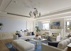 清新現代簡約三居室案例欣賞
