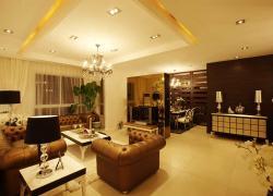 98平方現代簡歐二居裝飾案例欣賞