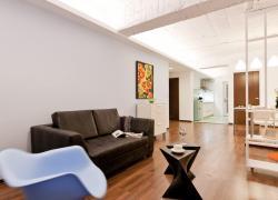 花果园简约两居室装修设计
