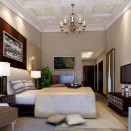 180平米时尚欧式室内装修效果图