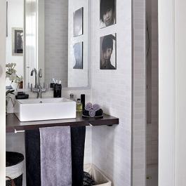 48平米現代公寓式住宅效果圖