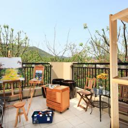 260平米别墅室内混搭风格装修设计