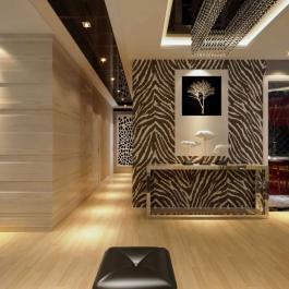 90平米简约风格三室一厅装修设计
