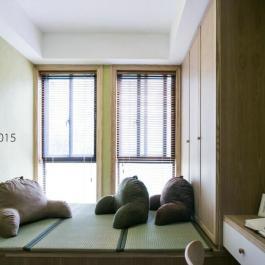 清爽雅致簡約風二居室裝修效果圖