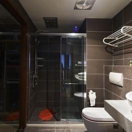 四室兩廳混搭風格裝修設計圖