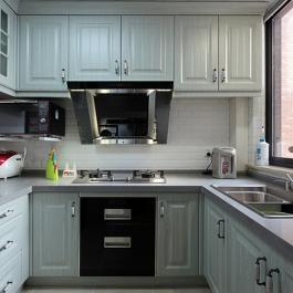 78平米美式混搭兩居室裝修效果圖