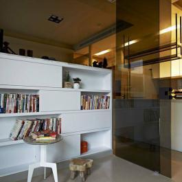 46平現代簡約二居裝修圖片大全