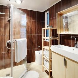 60平米現代風格普通住宅裝修設計圖