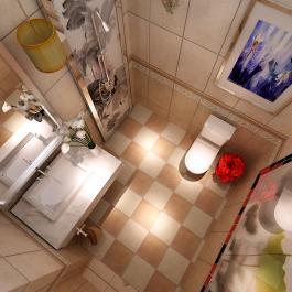 舒適中式風格三居室裝修效果圖賞析