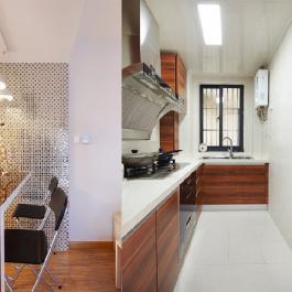 現代時尚84平米家居裝修效果圖