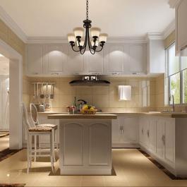 187平四居室欧式古典风格装修效果图