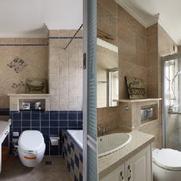120平美式混搭三居室設計案例