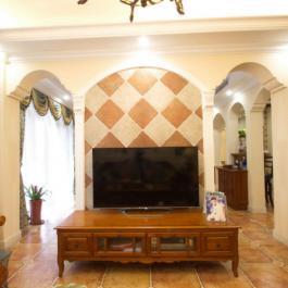 浪漫美式风格复式家居装修效果图赏析
