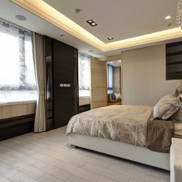 簡約132平三居室簡潔大方