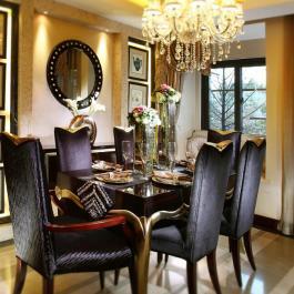 112平歐式三居室裝修效果圖案例