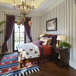 时尚欧式别墅室内装修设计案例