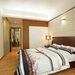 華僑城東岸中式四居室效果圖案例