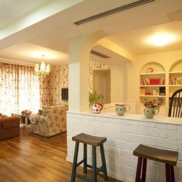 15萬田園風格 140平米三居室