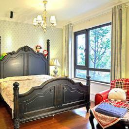 137平美式三居室混搭裝修案例