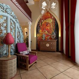 時尚東南亞三居室裝修設計
