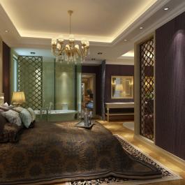 欧式家庭180平米四居室装修图片