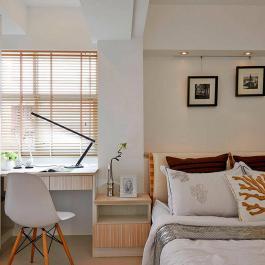 125平現代簡約三居裝修效果圖