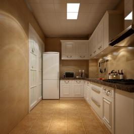 大氣歐式三居室裝修效果圖