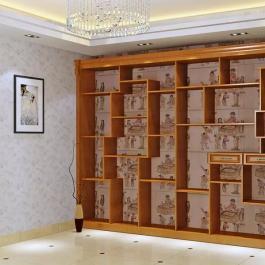 中式家具博古架裝修設計