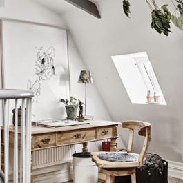 74平米迷人北欧复式公寓装修效果图