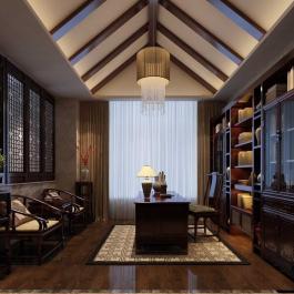 中式大氣別墅裝修案例