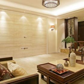 中鐵堰瀾山中式客廳設計