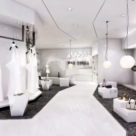 服裝商店室內布置圖片