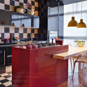 復古摩登廚房設計