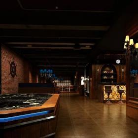 酒吧室内设计 酒吧过道装修效果图