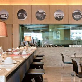 過道 時尚快餐廳室內裝修效果圖