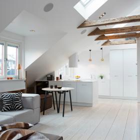 简欧风格复式客厅设计