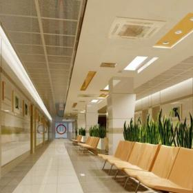 医院休息区效果图 南开医院装修效果图
