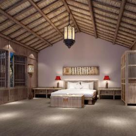 上海凱博農莊客房設計欣賞