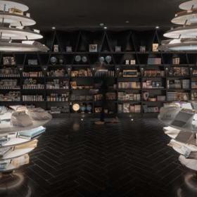 現代化圖書館圖片