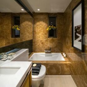 卫生间浴室镜瓷砖图片效果图