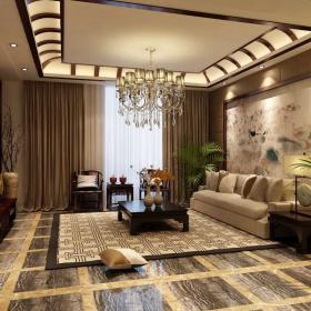 中式风格客厅装修 中式风格客厅图片