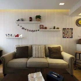 中式家装沙发背景墙图片赏析