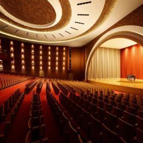 劇院吊頂裝修設計圖