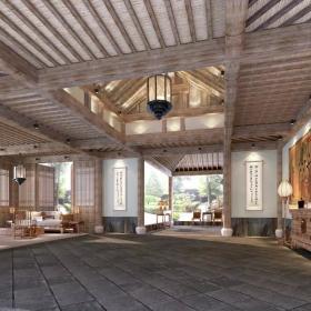 上海凱博農莊大堂設計圖片
