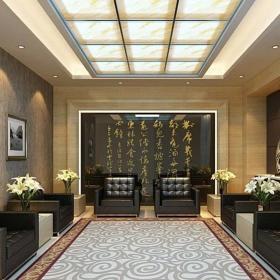 賓館咖啡店接待沙發設計圖