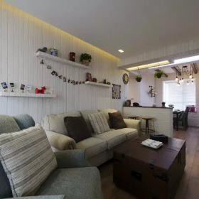 中式家装沙发背景效果图赏析