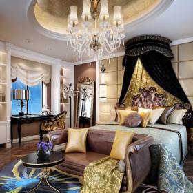 欧式卧室装修 卧室设计效果图