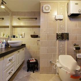 混搭別墅衛生間設計