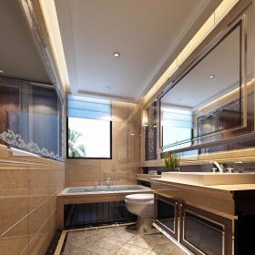 衛生間簡約風格設計