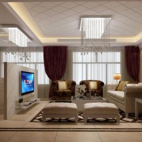 酒店賓館窗簾裝修圖片